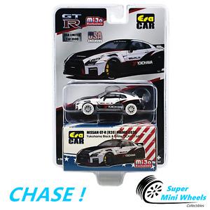 CHASE ! ERA Car 1:64 - 2020 Nissan GT-R R35 Nismo Yokohama (White)