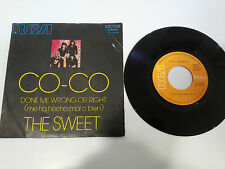 """THE SWEET CO-CO DONE ME WRONG OR RIGHT SINGLE 7"""" VINYL SPANISH ED 1971 RCA"""