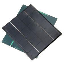6W 6V Monocrystalline Solar Panel Cell Module Solar Power Battery Charger