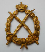 Greece Vintage Royal Army Uniform Insignia Badge Greek Military # 4