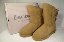 Bearpaw Boshie Wide Women's Boot Color: Hickory Size 12 Brand New