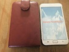 PROTECTIVE FLIP-OPEN LEATHER CASE / WALLET / COVER - SAMSUNG GALAXY NOTE i9220
