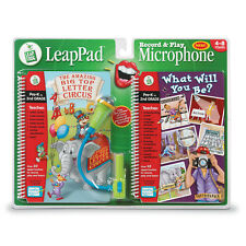 BNIP Leap Frog LeapPad Record & Play Microphone with 2 books
