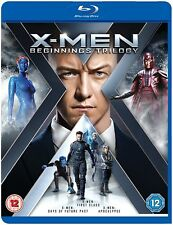 X-MEN: BEGINNINGS TRILOGY: BLU-RAY  First Class, Days of Future Past, Apocalypse