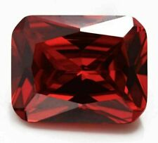 Natural Emerald Red Ruby 26.2ct 13x18mm Faceted Cut AAAAA VVS Loose Gemstone