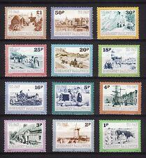 103204/ Guernsey 1982 - Mi P 30/41 - Portomarken - Ansichten - ** - M€ 9,00
