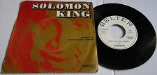 SOLOMON KING ANSWER ME c/w DONT BE A SINNER SPANISH BELTER PROMO PIC SLEEVE 1971