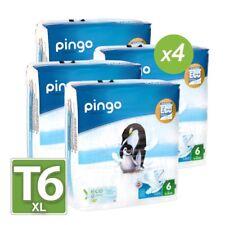 Couches PINGO T6 écologiques et biodégradables 15/30kg (128 couches)