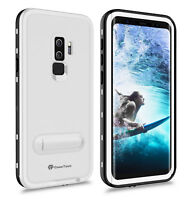 For Galaxy S9 / S9 Plus Case Waterproof Shockproof Cover with Screen Protector