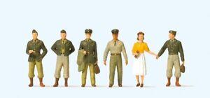 Preiser 10594 US-Soldaten. Fünfziger Jahre 1:87 / H0