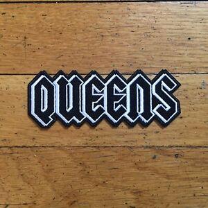 New York City Queens Patch Biker Harley Davidson Heavy Metal Motorcycle