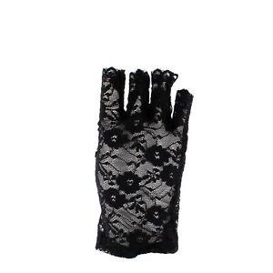 Zac's Alter Ego® 80s Style Short Lace Fingerless Gloves