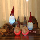 2 Pack Lighted Gnomes Christmas Hanging Table Decorations, Holiday LED Color Cha