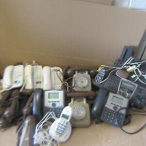 JOBLOT  VINTAGE  COLLECTABLE  TELEPHONES  BT 610  520 1100  PANASONIC FAX COPIER