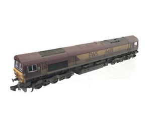 "DAPOL ND-108B N Gauge EWS CLASS 66 NO 66111 ""Highland Stag"" - WEATHERED"