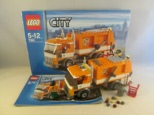 Lego City - 7991 Recycle Truck / Garbage Truck