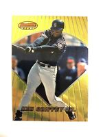 KEN GRIFFEY JR. 1996 BOWMAN'S BEST GOLD FOIL #71 HOF