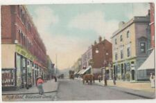 High Road Willesden Green, London 1907 Postcard B835