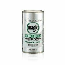 Carson Magic Platinum Skin Conditioning Shaving Powder -Silver