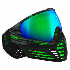 Virtue Vio Contour Thermal Mask - Graphic Emerald - Paintball