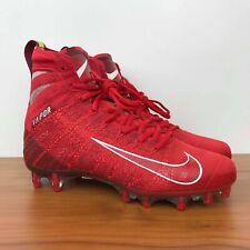 Nike Vapor Untouchable 3 Elite Football Cleats Red Ah7408-600 Men's Size 11