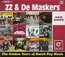 ZZ & de Maskers-Golden Years of Dutch pop music, 2cd NUOVO