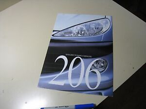 PARTS PEUGEOT 206 Japanese Parts Brochure 1999/10 Blue Magic REMUS gutmann