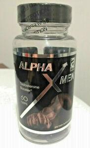 Alpha X Men Testosterone booster 60 caps Niacin Maca Yohimbe testosterona hombre
