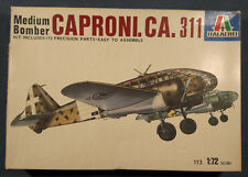 Italaerei - Caproni Ca 311 - Medium Bomber - Kit 113 - Vintage 1/72 Model Kit