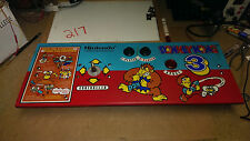 Control Panel for DONKEY KONG 3 -1983 Nintendo - w/ controls/wiring- SHIPS FREE!