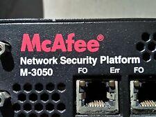 McAfee Network Security Platform M-3050 -Firewall