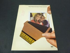 Vtg Polaroid Color Pack Camera Brochure Booklet Instructions 22 pgs
