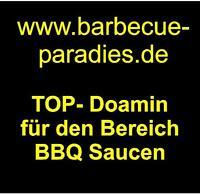 www.barbecue-paradies.de Domainname Webadresse für BBQ Saucen Snacks USA Domain