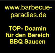 Www.barbecue-paradies.de Domain Name dirección Web para barbacoa salsas aperitivos estados unidos Domain