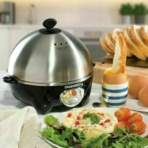Daewoo Electric Egg Cooker Poached Boiled Omelette Maker Healthy Breakfast