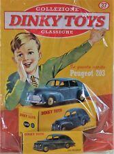 DINKY TOYS PEUGEOT 203 24R MINIATURE ATLAS VINTAGE 1:43 CAR MODEL DE AGOSTINI