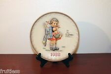 1980 Hummel Goebel annual collector plate 7.5in 273 School Girl original box