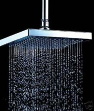 New Super Ultimate Large Bathroom Rainfall Flow low Pressure Square Shower Head