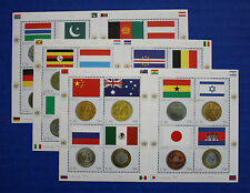 United Nations - 2006 Flags & Coins MNH sheet set with folder