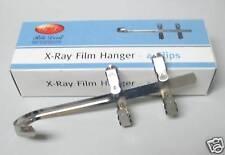 NEW DENTAL X-RAY FILM HANGER 4 CLIPS FOR XRAY HOLD FILM DURING DEVELOPMENT