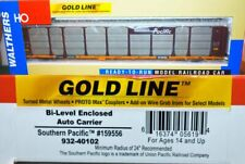 Southern Pacific 159556 Bi-Level Auto Carrier Walthers Gold 932-40102 HO O23.27