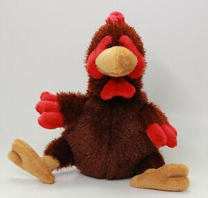 Webkins by Ganz Rooster Plush Stuffed Animal Toy Clean Excellent No Code