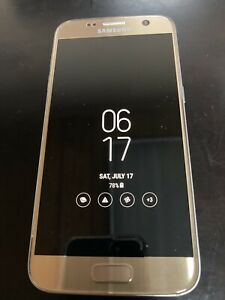 Samsung Galaxy S7 Duo - Dual SIM - SM-G930FD - 32GB - Gold - GSM Unlocked