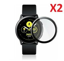 2 X Full Cover Screen Protector For Samsung Galaxy Watch Active2 44mm