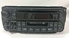 2002-2007 Dodge Chrysler Jeep CD cassette player w/ steering wheel controls