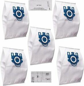 5 x Hoover Dustbags Hyclean GN Complete C3 Vacuum Bags For Miele S2000-S8000
