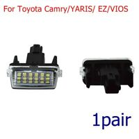 2pc Car Rear Number License Plate Light Lamp Bulb For Toyota Camry/YARIS/EZ/VIOS