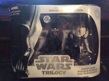 Star Wars Trilogy Darth Vader Emperor Palpatine & Stormtrooper Commemorative Set