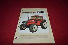 Volvo BM Valmet 605 Tractor Dealer's Brochure DCPA6