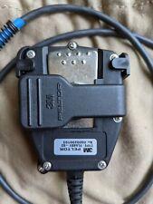 3M PELTOR Push-To-Talk PTT Adapter Military Radios FL5601-02 with 6-PIN MIL-C...